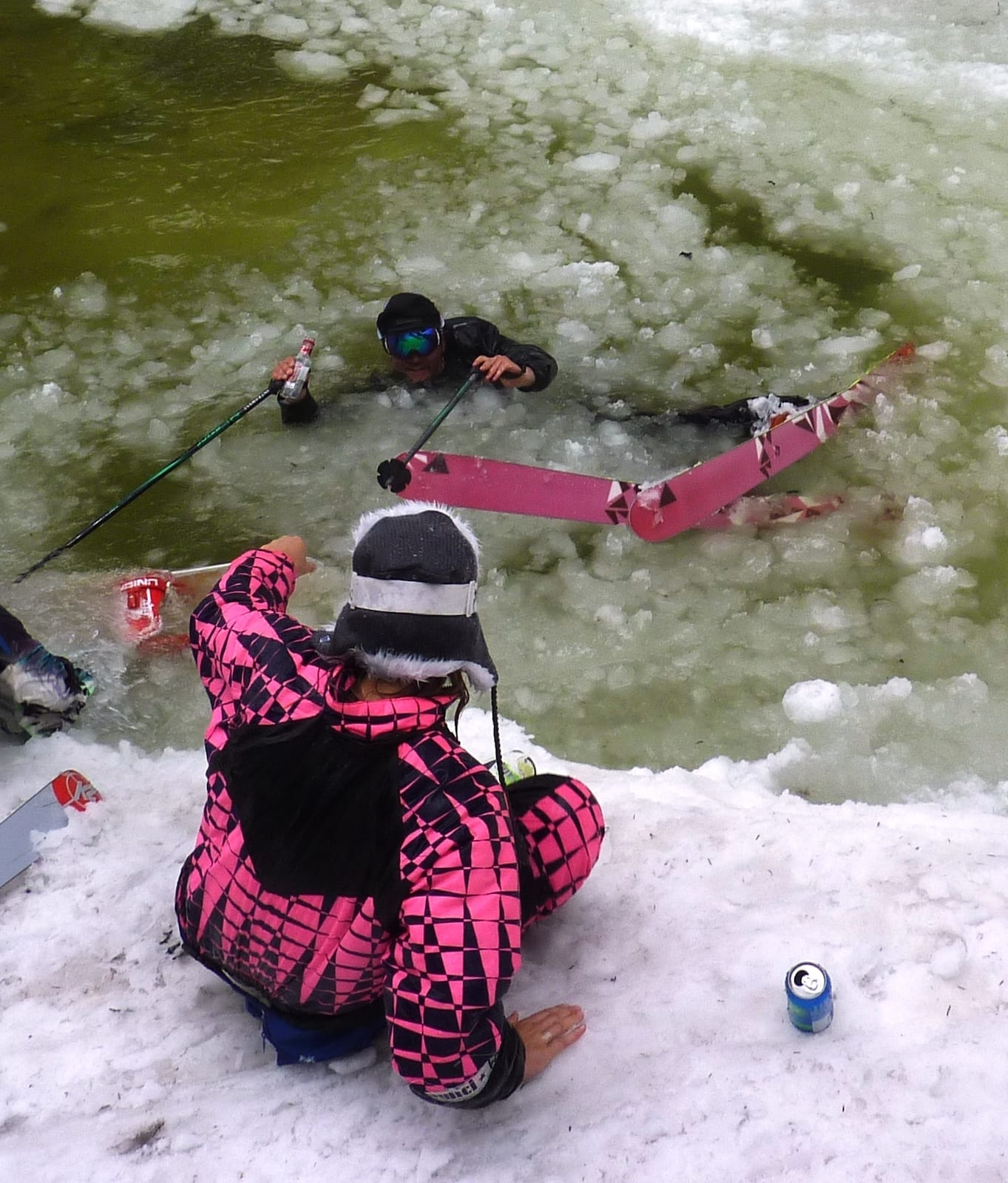 Ski Lingo Slushies Pool