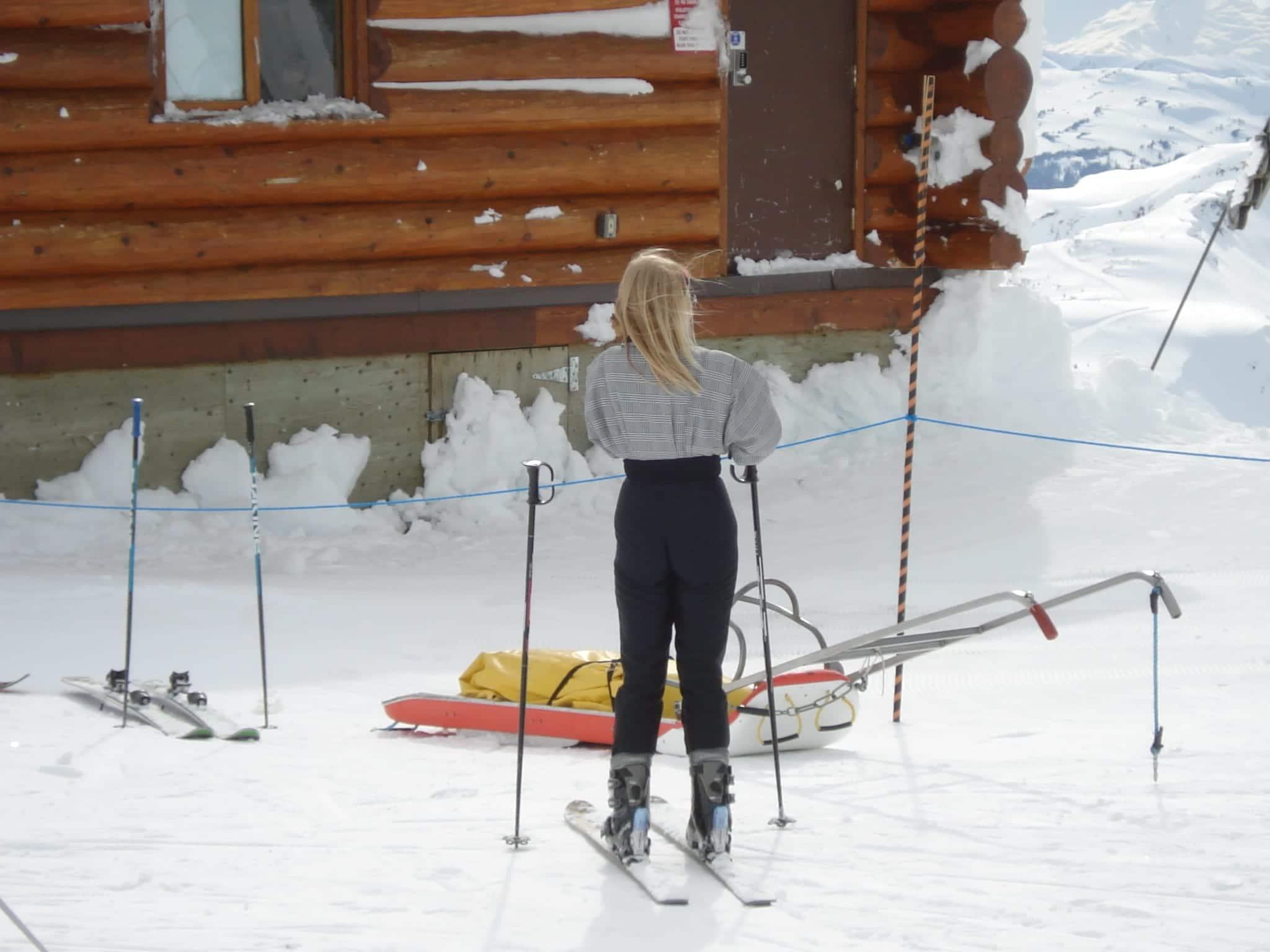 Ski Lingo Snow Bunny
