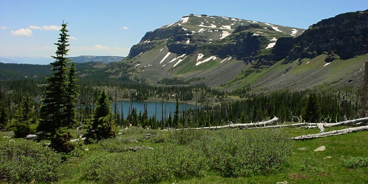 Stillwater Reservoir from North Derby Trail near Yampa Colorado