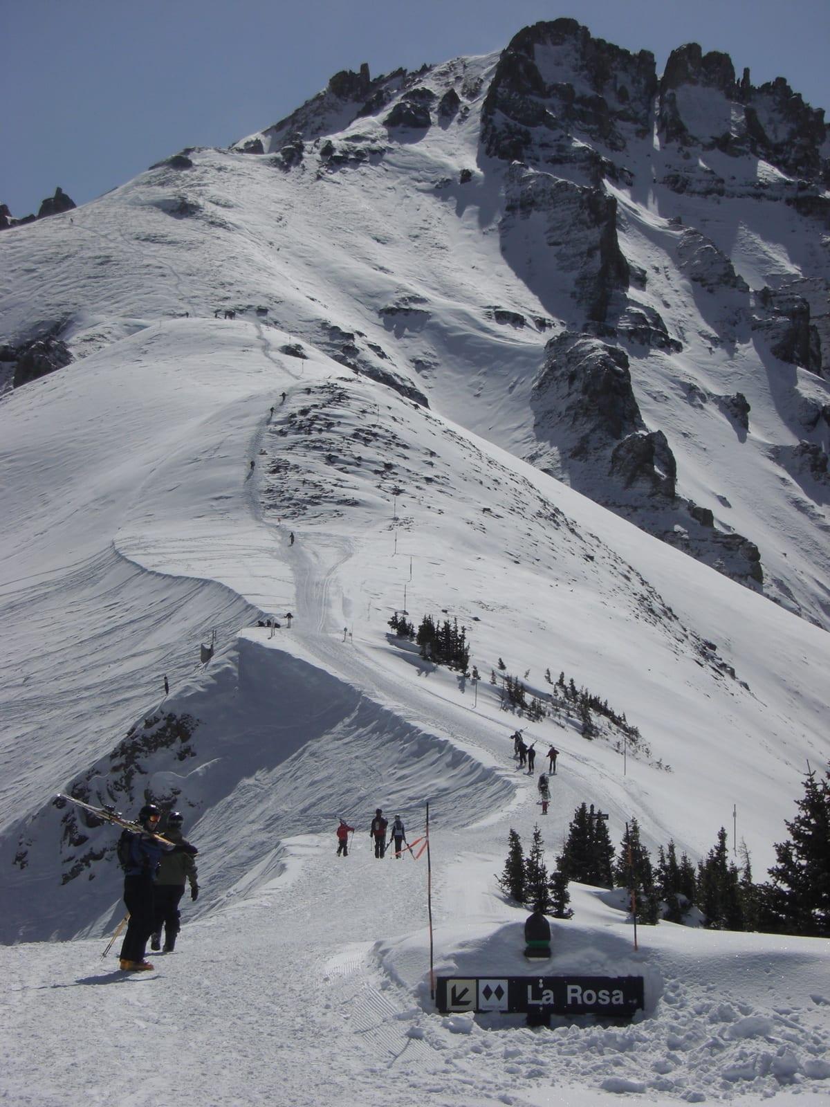 Telluride Ski Resort Palmyra Peak