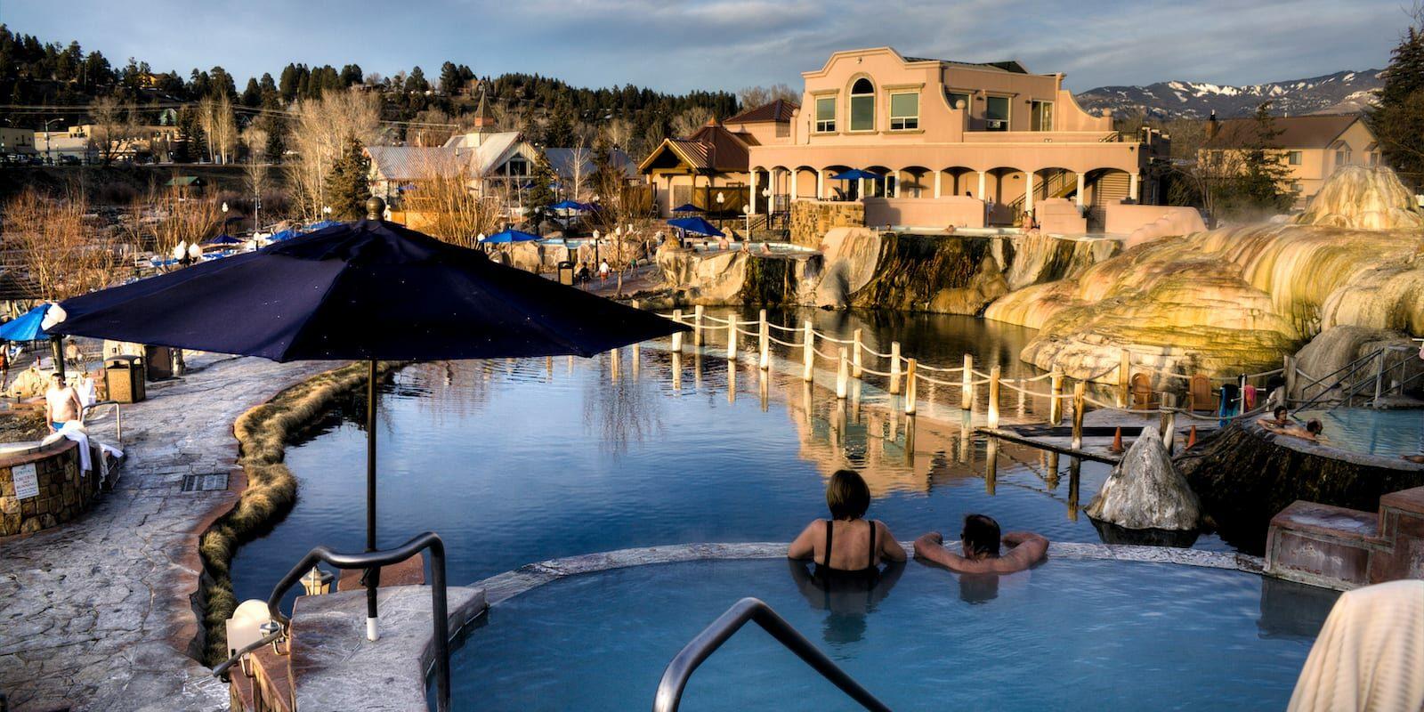 The Springs Resort Pool Pagosa Springs CO