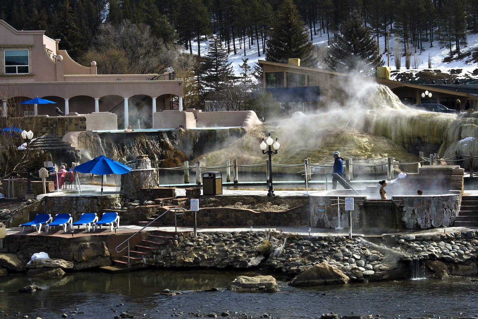 The Springs Resort Hot Spring Pools Pagosa Springs CO