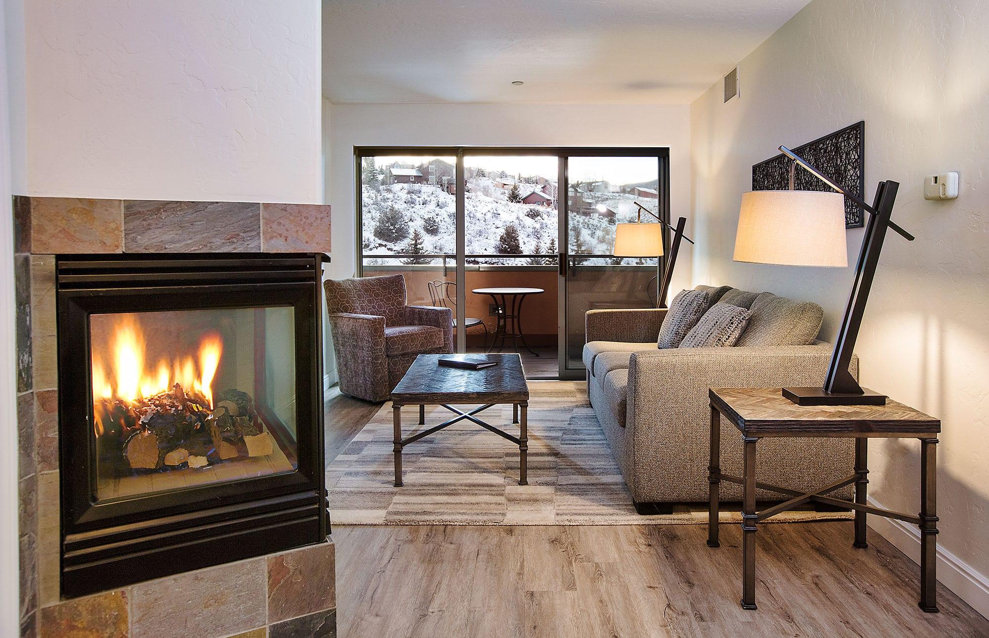 image of a room at the inn at riverwalk