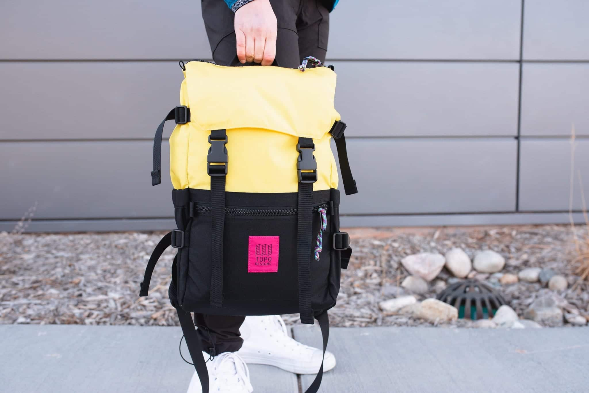 image of topo designs backpack