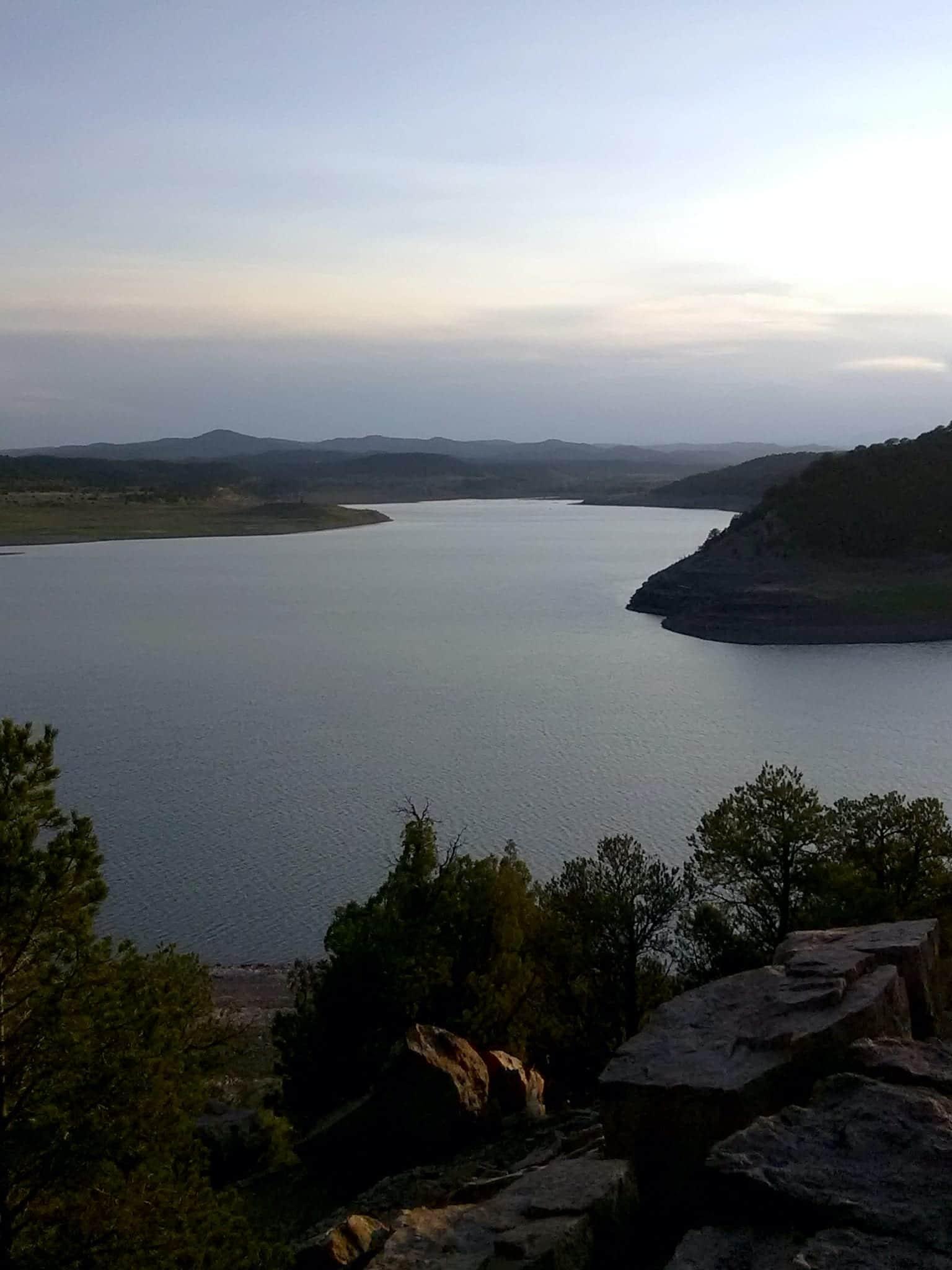 Trinidad Lake State Park Dusk