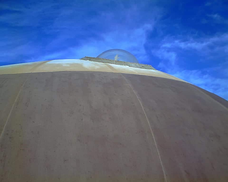 UFO Watchtower Dome Roof