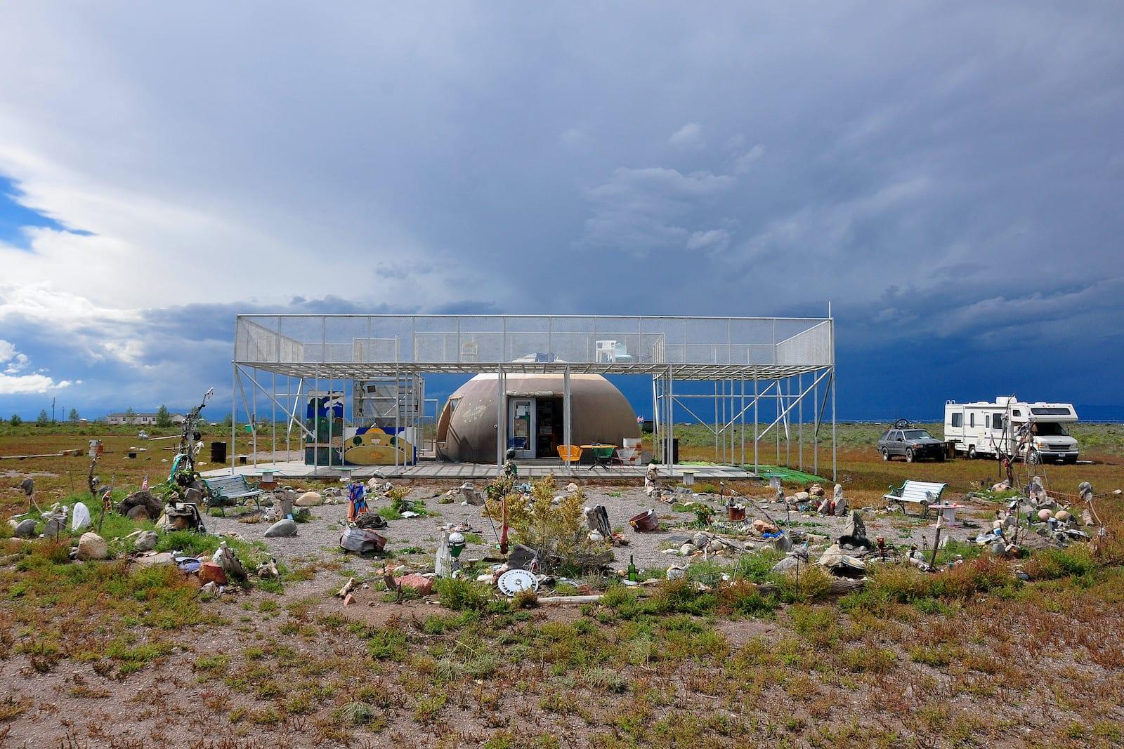 UFO Watchtower Highway 17 Hooper Colorado