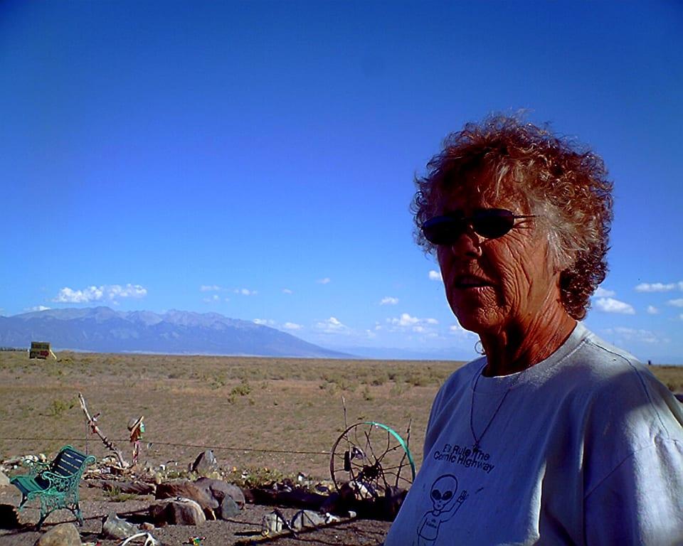 UFO Watchtower Owner Judy Messoline