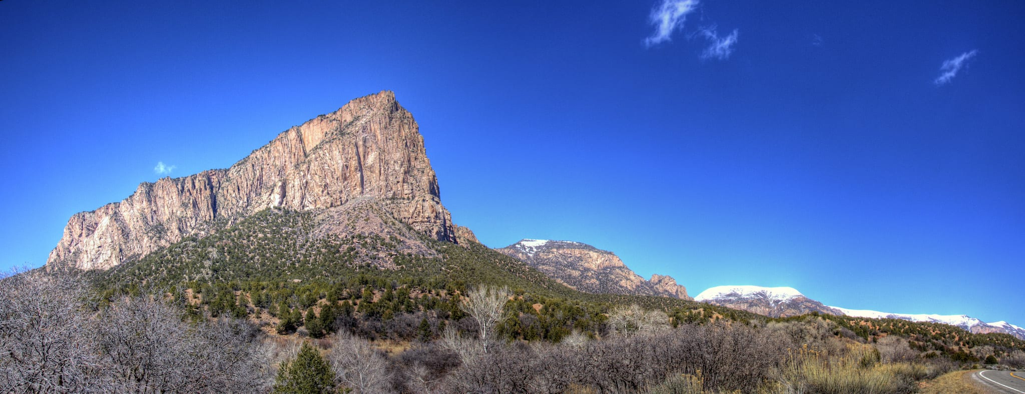 Unaweep Seep Natural Area Panorama Gateway Colorado