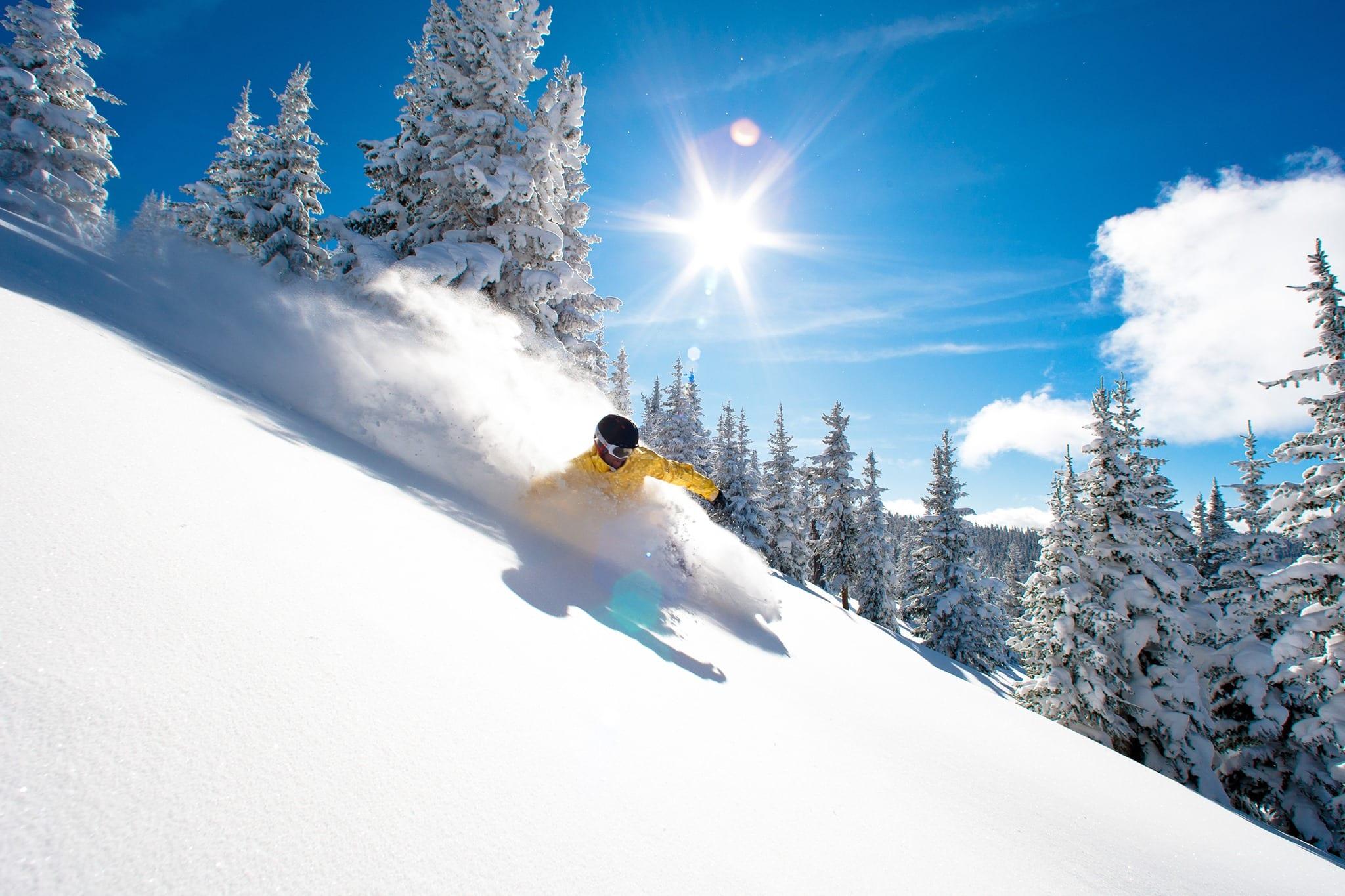 image of vail ski resort