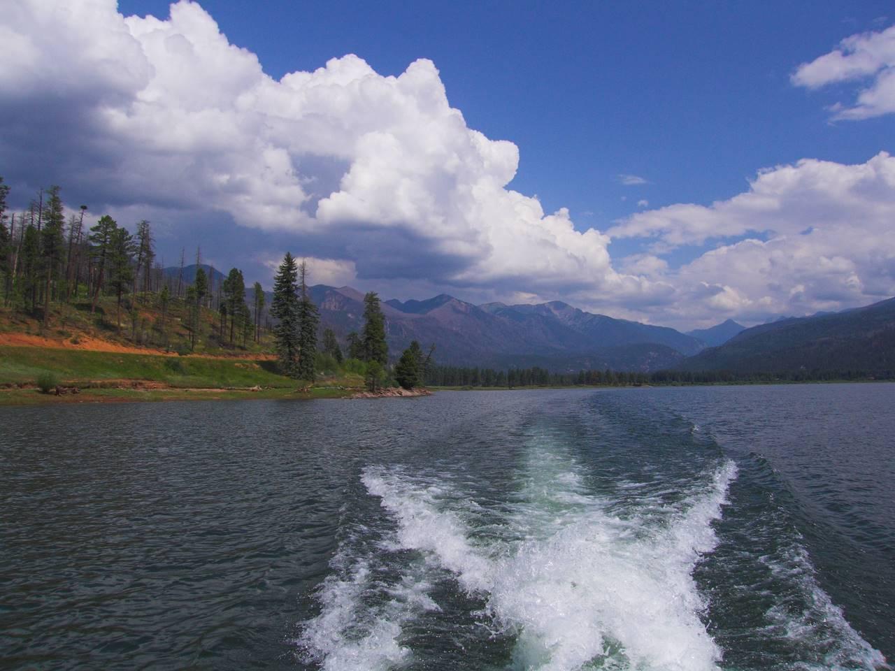 Vallecito Lake Durango Colorado