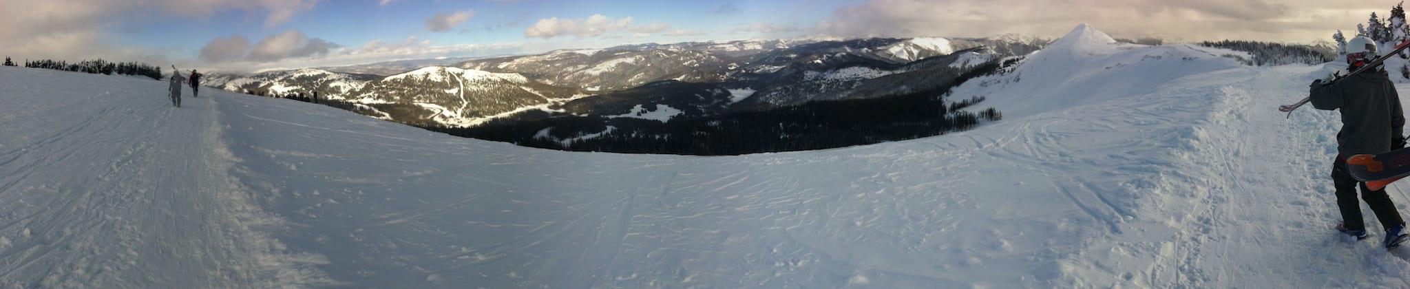 Wolf Creek Ski Area Ridge Colorado Panorama