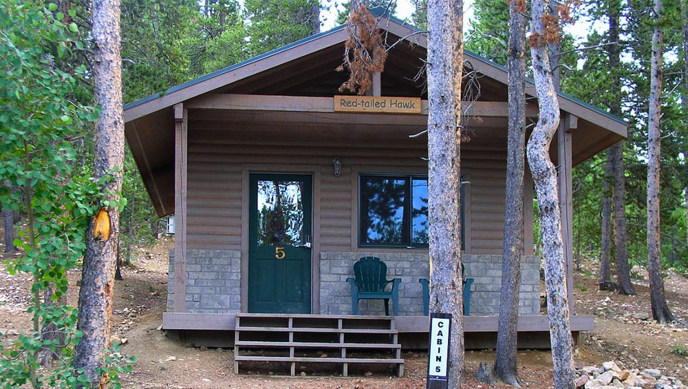 cabin at golden gate canyon state park