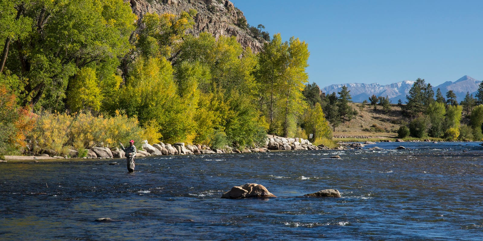 Arkansas River Fly Fishing Gold Medal Waters Colorado