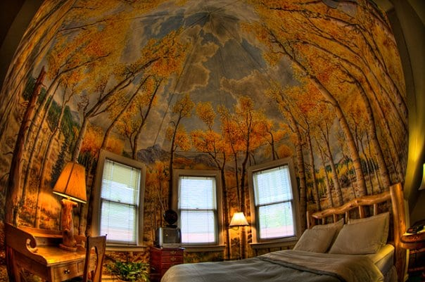 image of aspen room at queen anne bed and breakfast