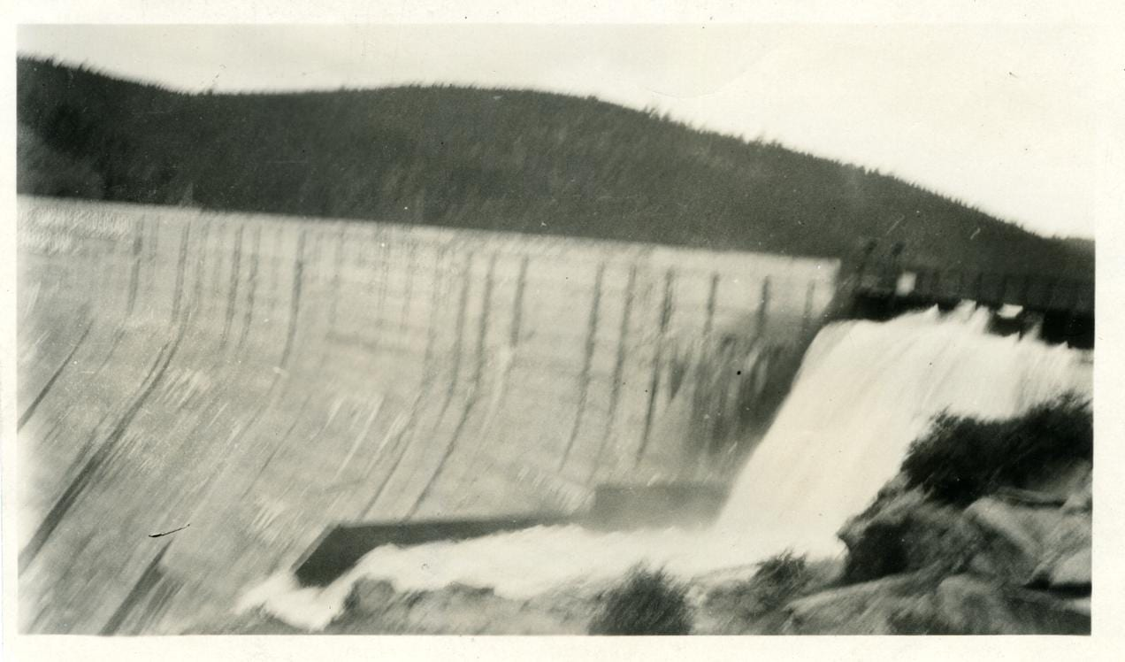 Barker Dam North Boulder Creek Nederland CO Circa 1925