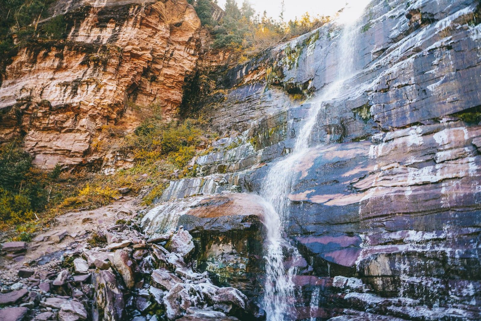 Bear Creek Falls Telluride CO
