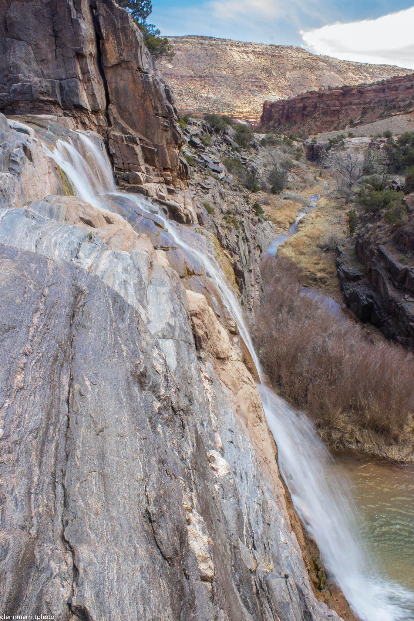 Desert Falls Big Dominguez Canyon Colorado
