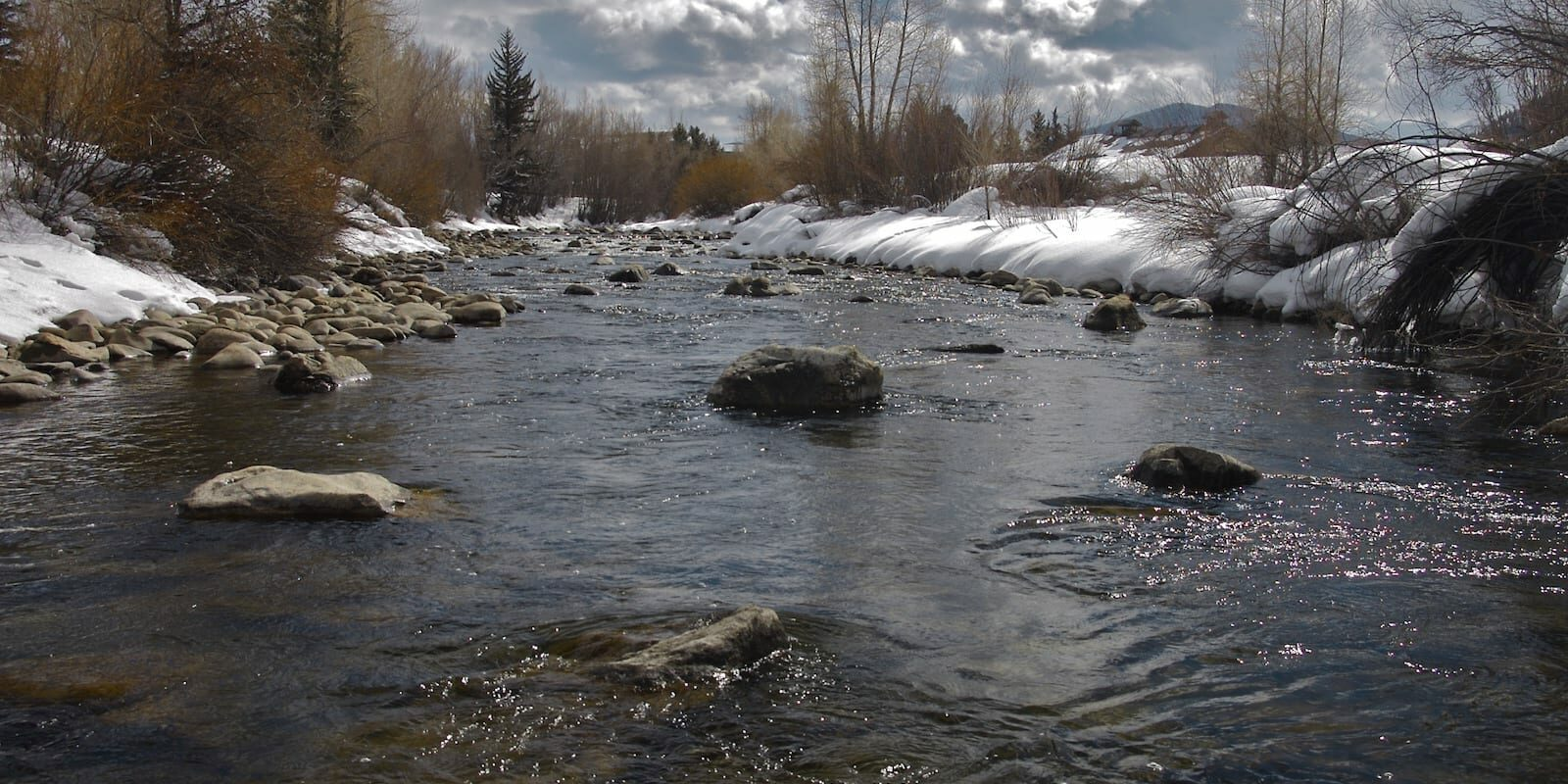 Blue River north of Silverthorne CO
