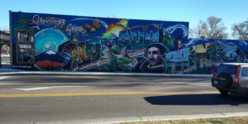 Colorado Springs Mural Greetings