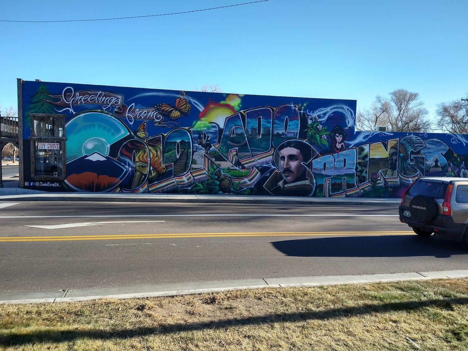 Colorado Springs Mural Greetings