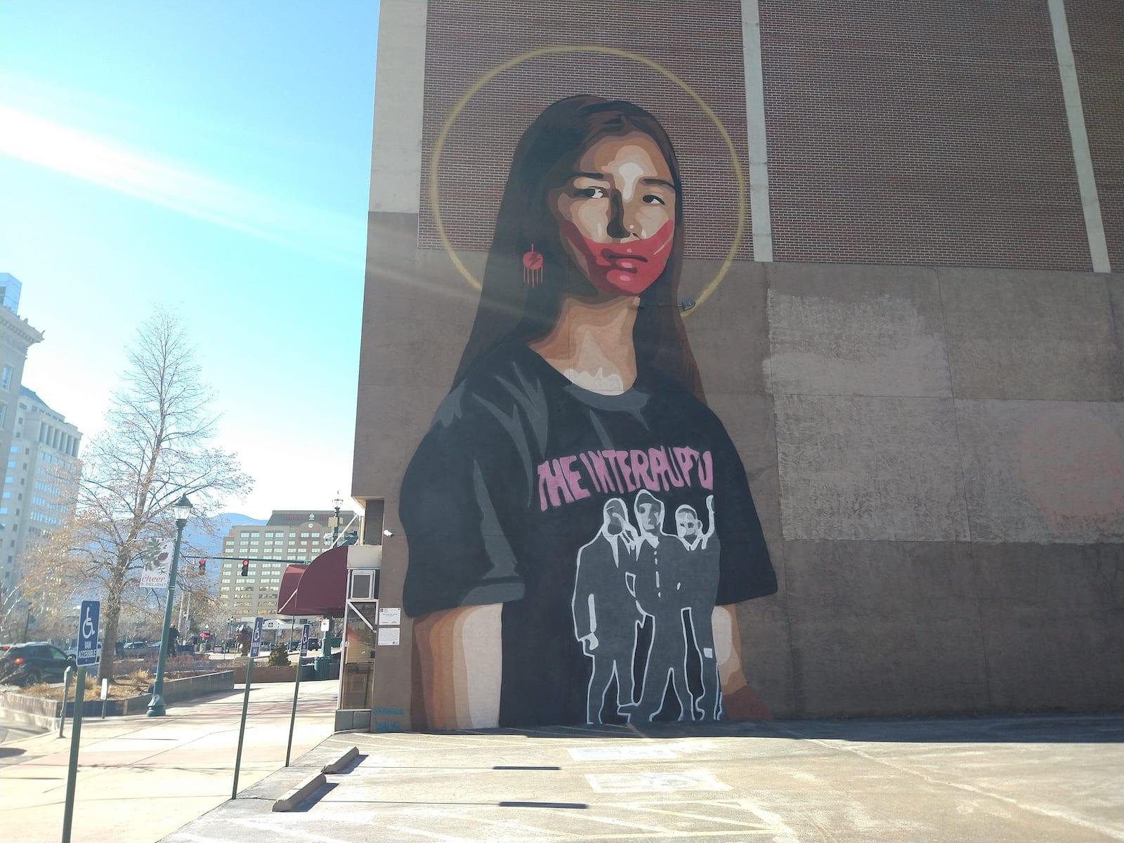 Colorado Springs Mural Take Back The Power