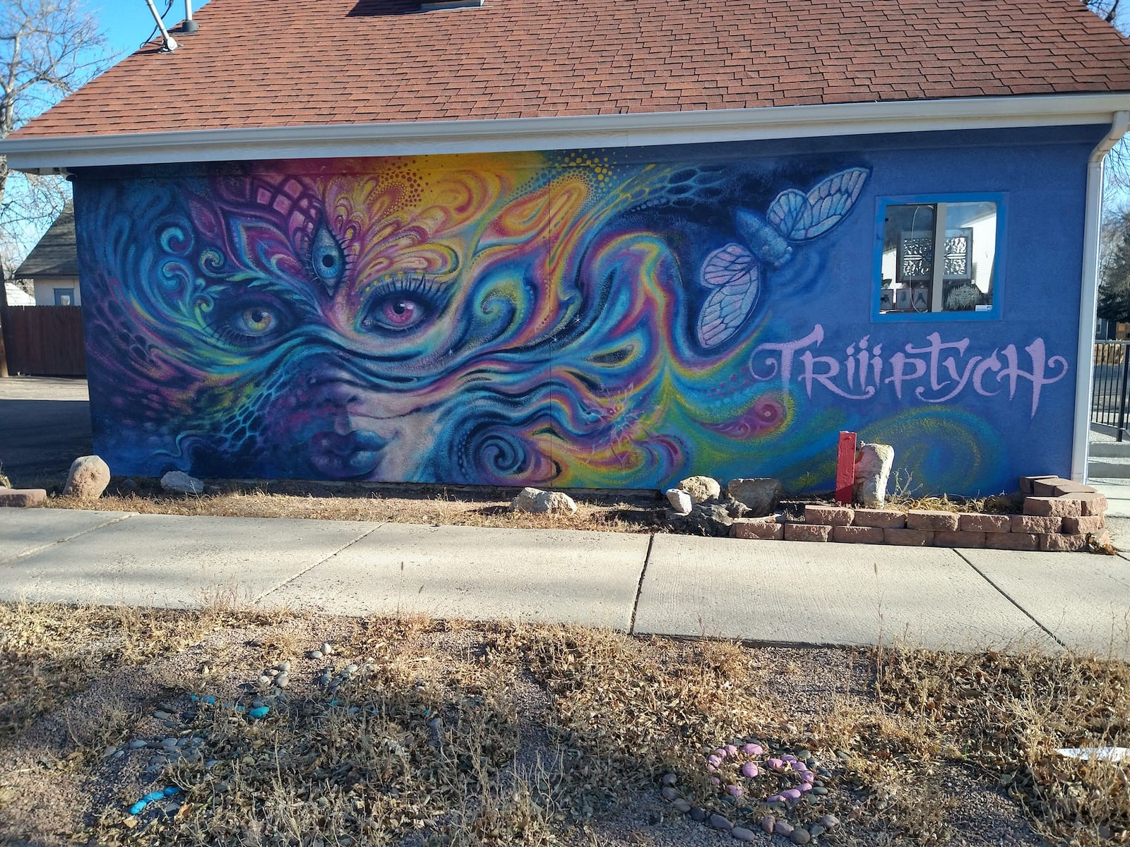 Colorado Springs Mural Triiptych