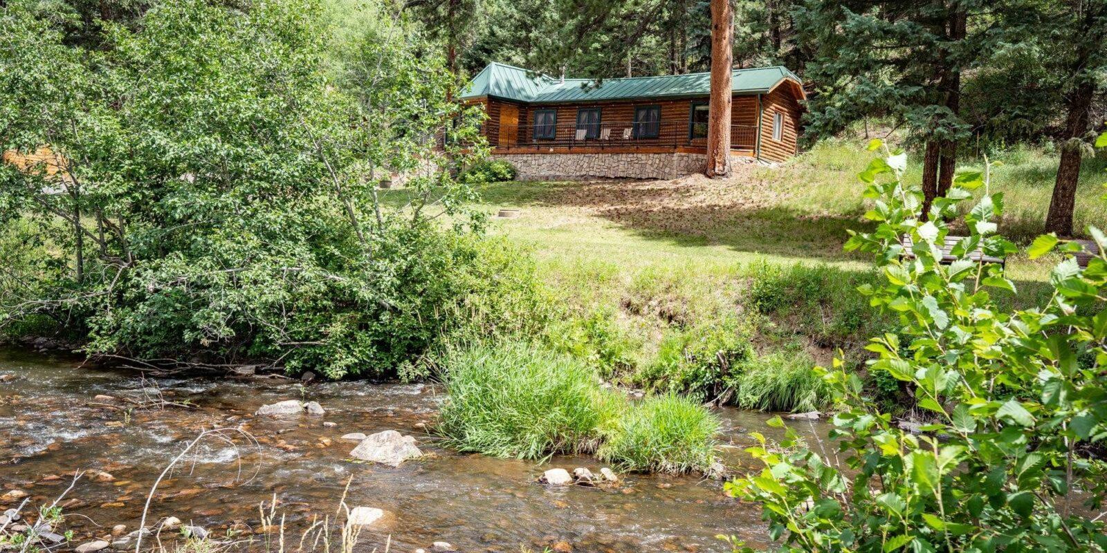 image of colorado bear creek cabins