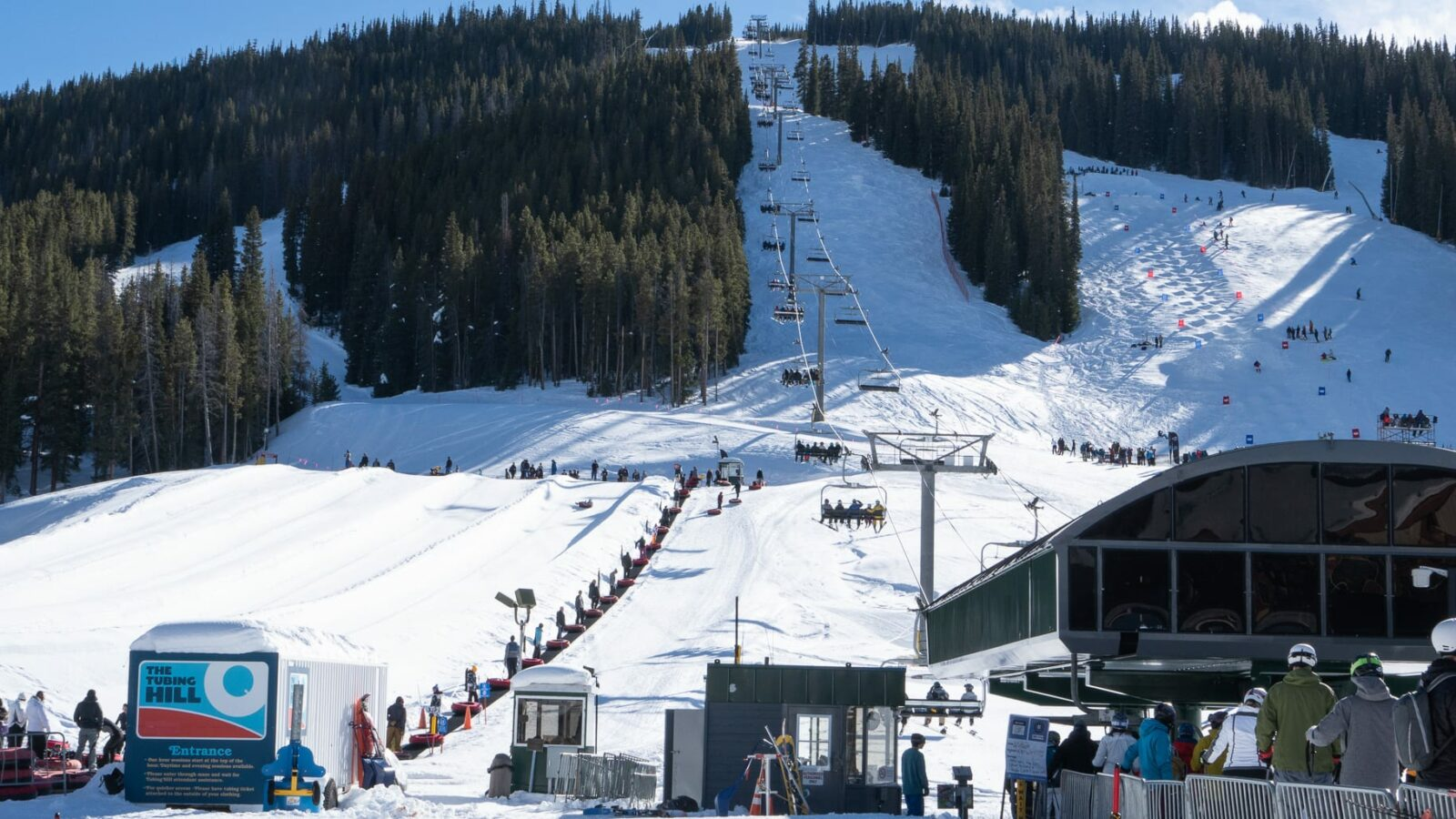 Copper Mountain Resort Chairlift and Tubing Hill