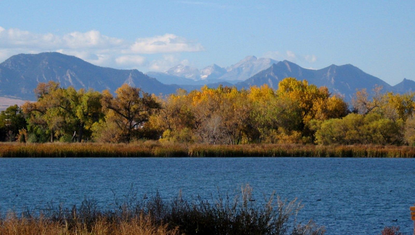Crown Hill Lake Colorado Autumn Colors