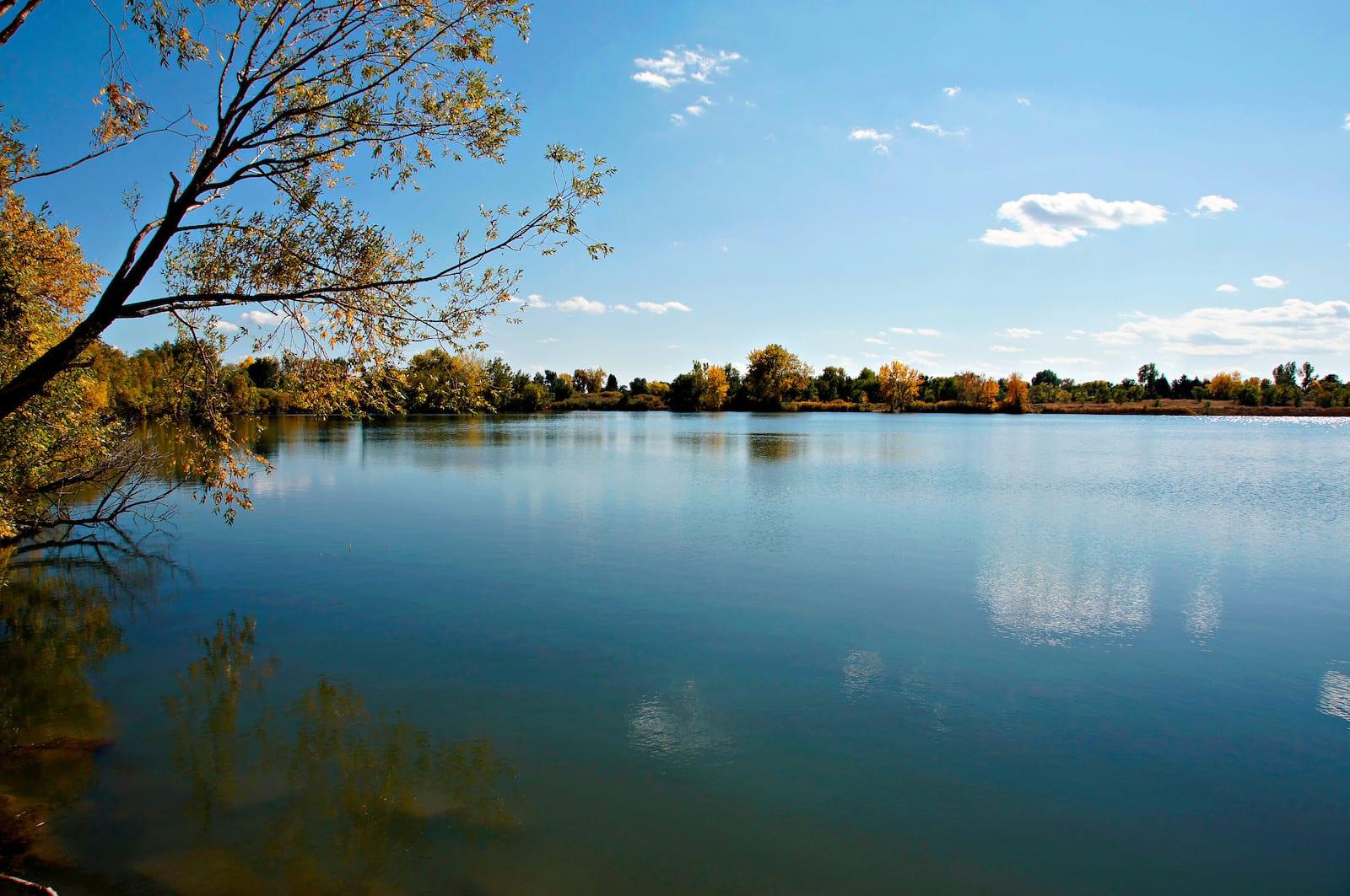Crown Hill Lake Autumn