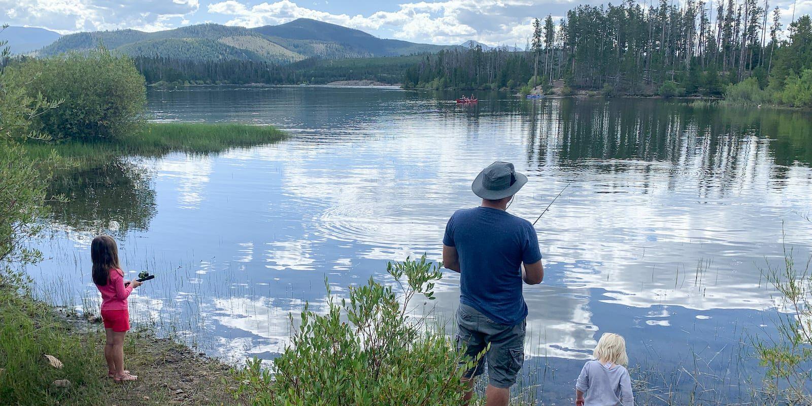 Dillon Reservoir Fishing Summit County Colorado
