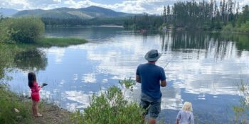 Dillon Reservoir Fishing Summit County Colorado