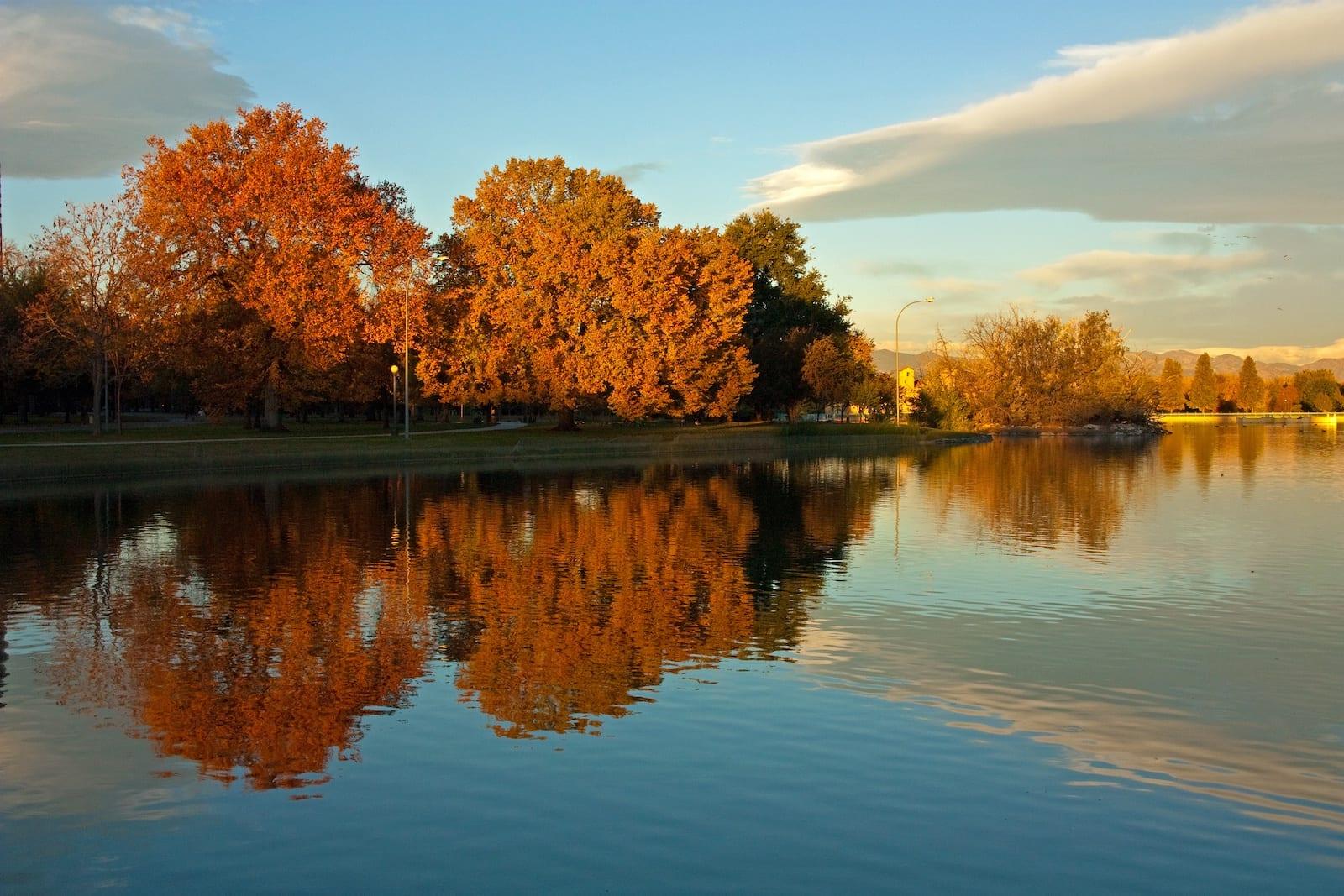 Ferril Lake City Park Denver CO