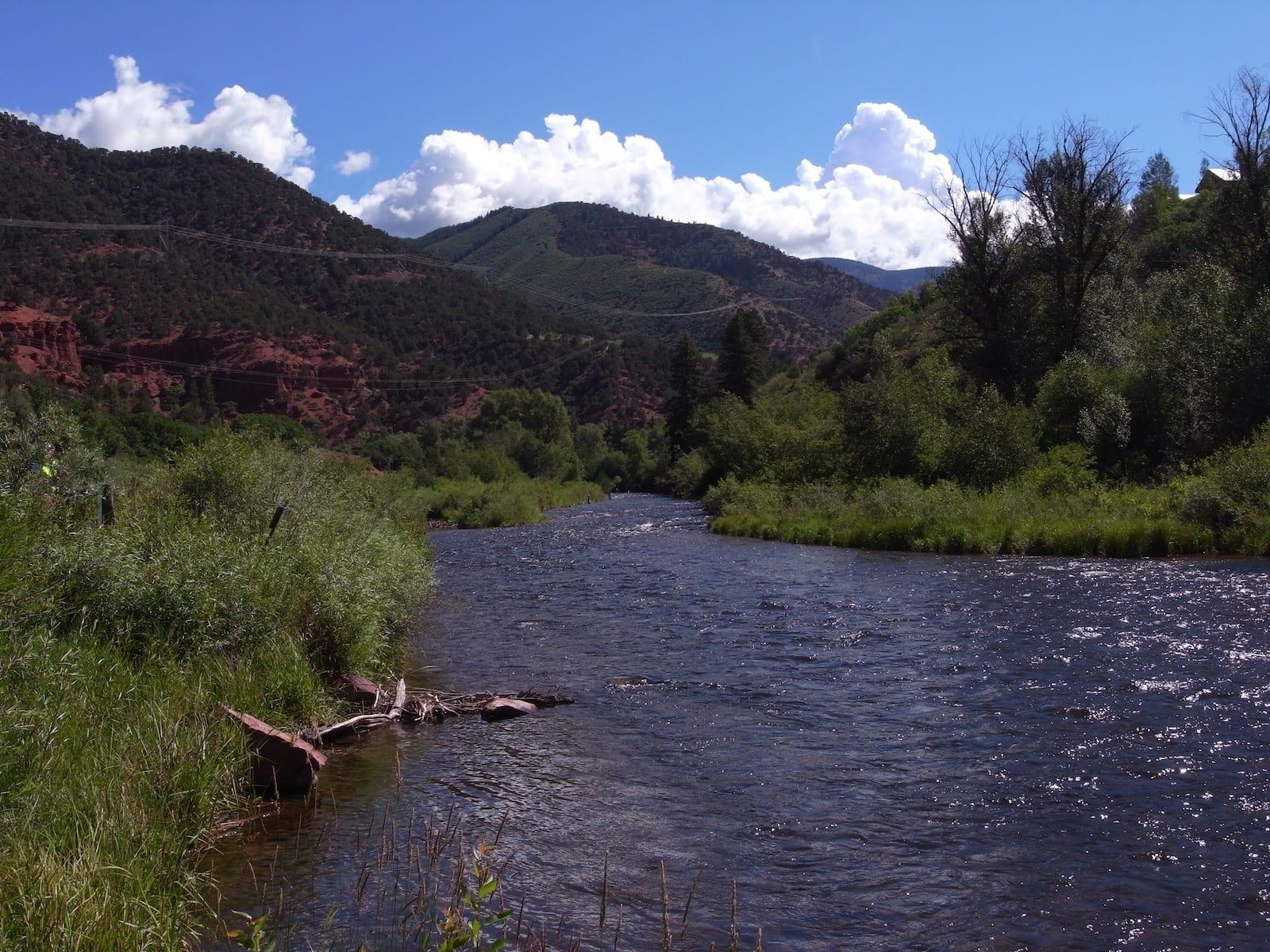 Frying Pan River Basalt Colorado