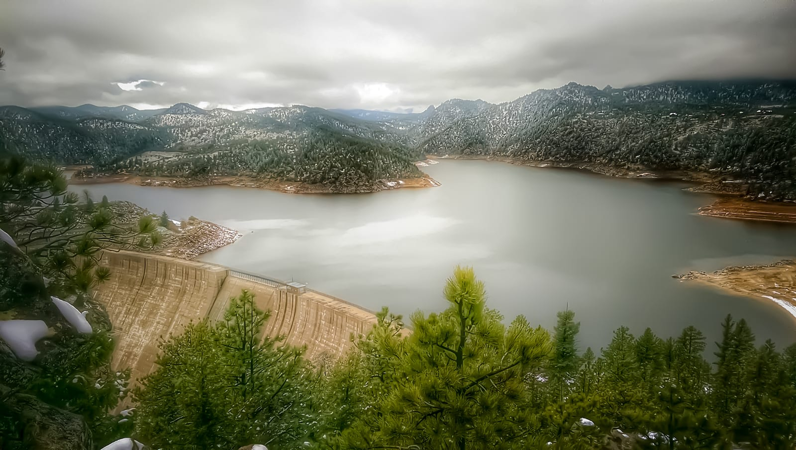 Gross Reservoir Springtime Boulder Colorado