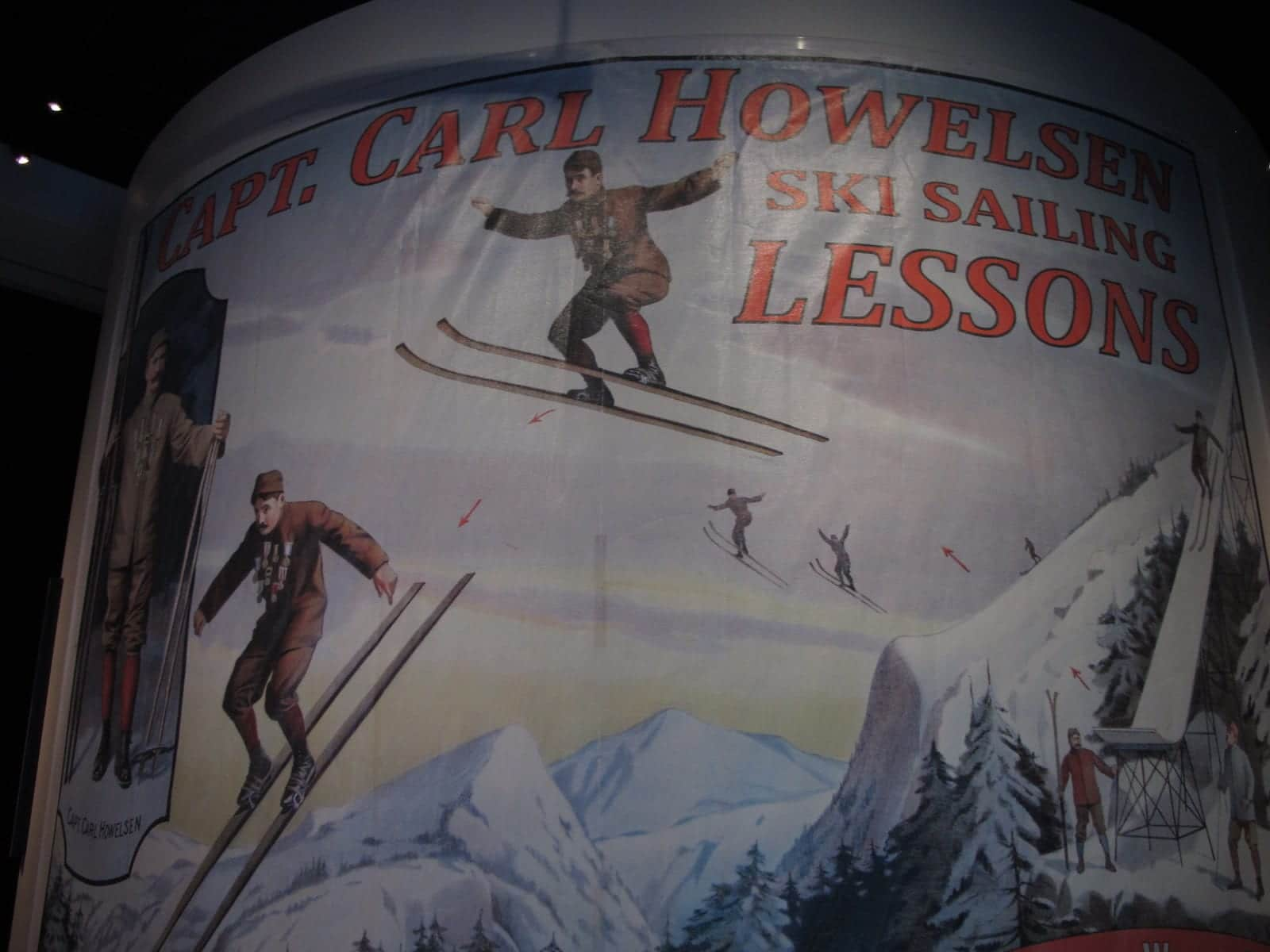 Capt. Carl Howelsen Ski Sailing Lessons, History Colorado Center