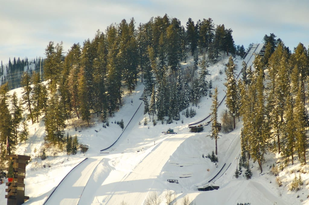Howelsen Hill Historic Ski Jumps Colorado