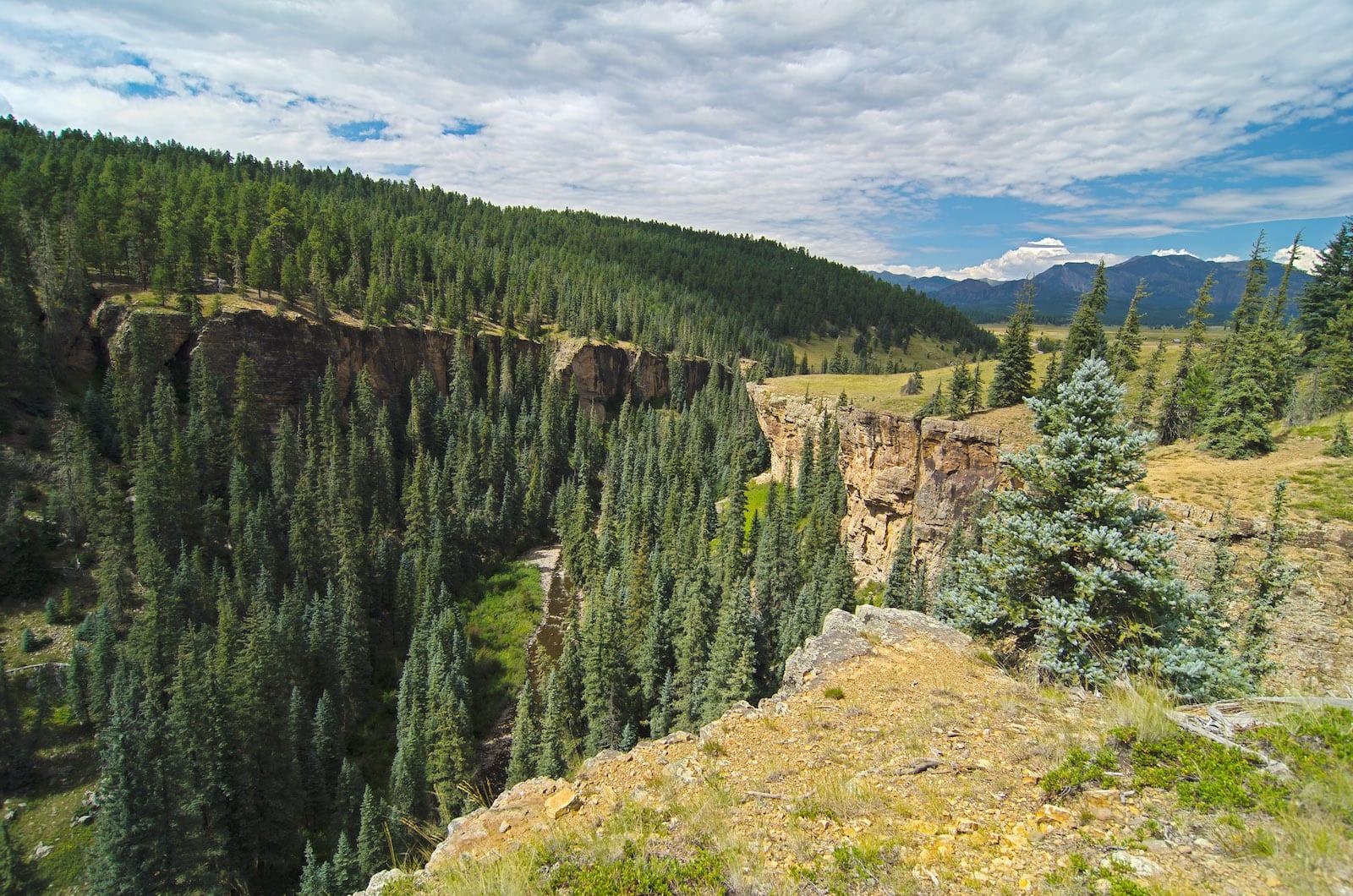 Ice Cave Ridge near Pagosa Springs CO