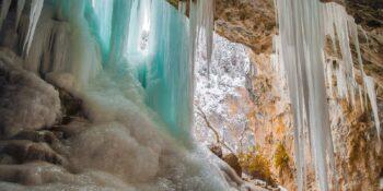 Ice Caves Colorado Rifle Mountain Park