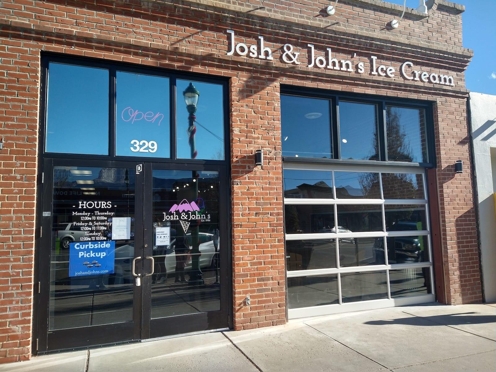 Josh and Johns Ice Cream Colorado Springs Exterior
