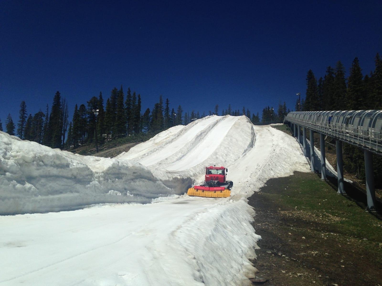 Keystone Colorado Summer Snow Tubing