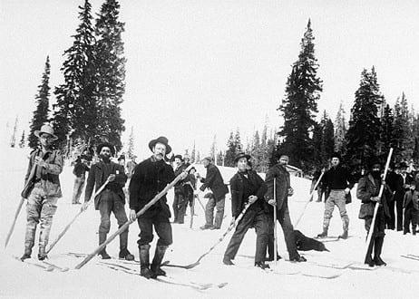 Miners Skiing Irwin Colorado