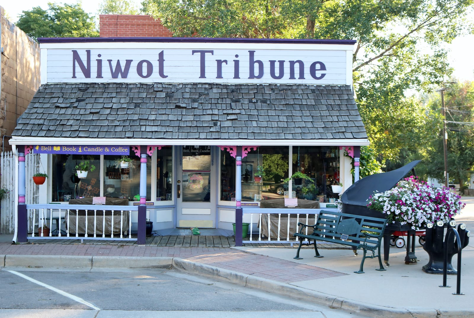 Old Niwot Tribune Colorado