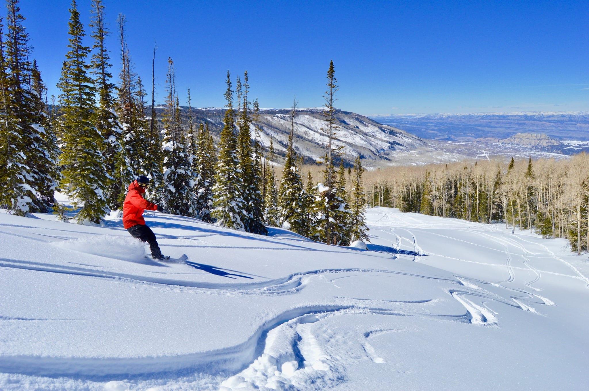 image of powderhorn ski area