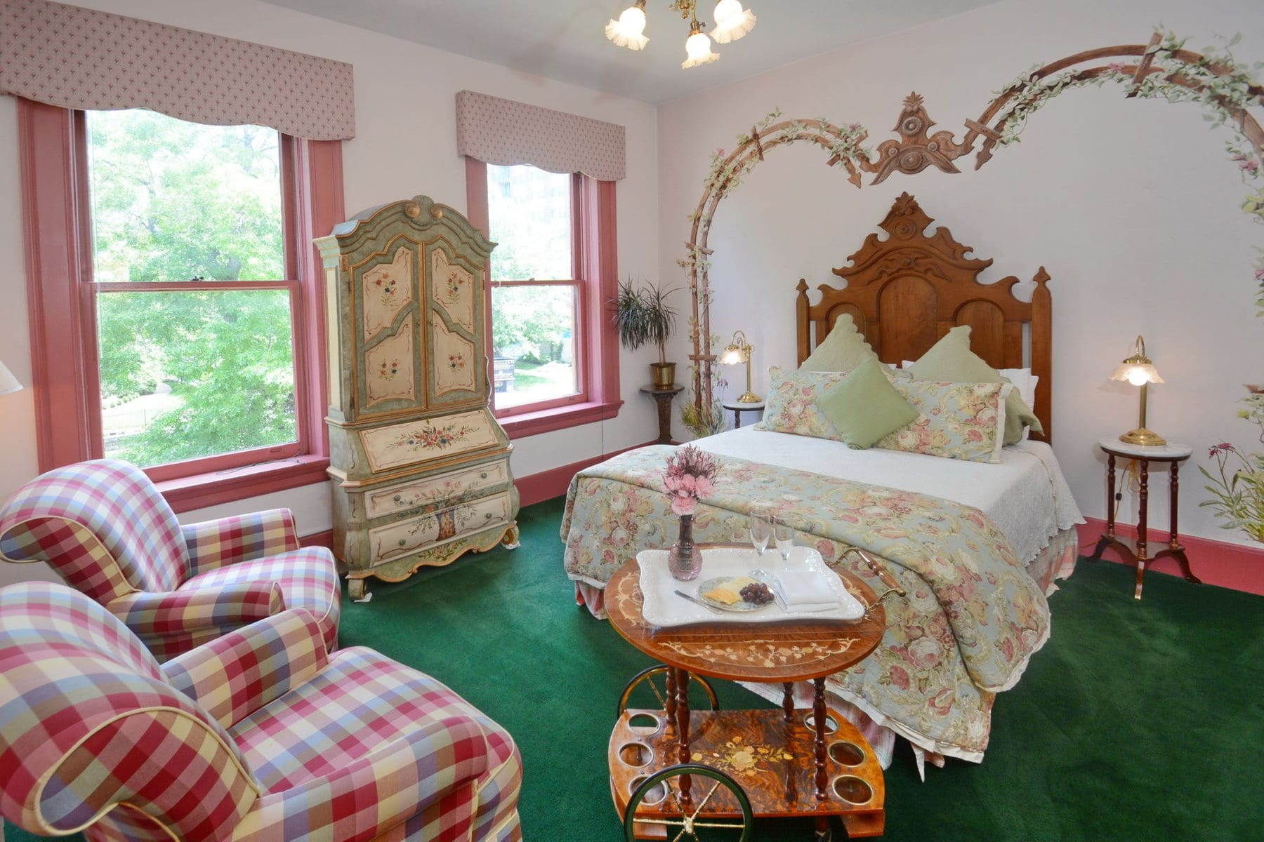 image of a room at the capitol hill mansion denver