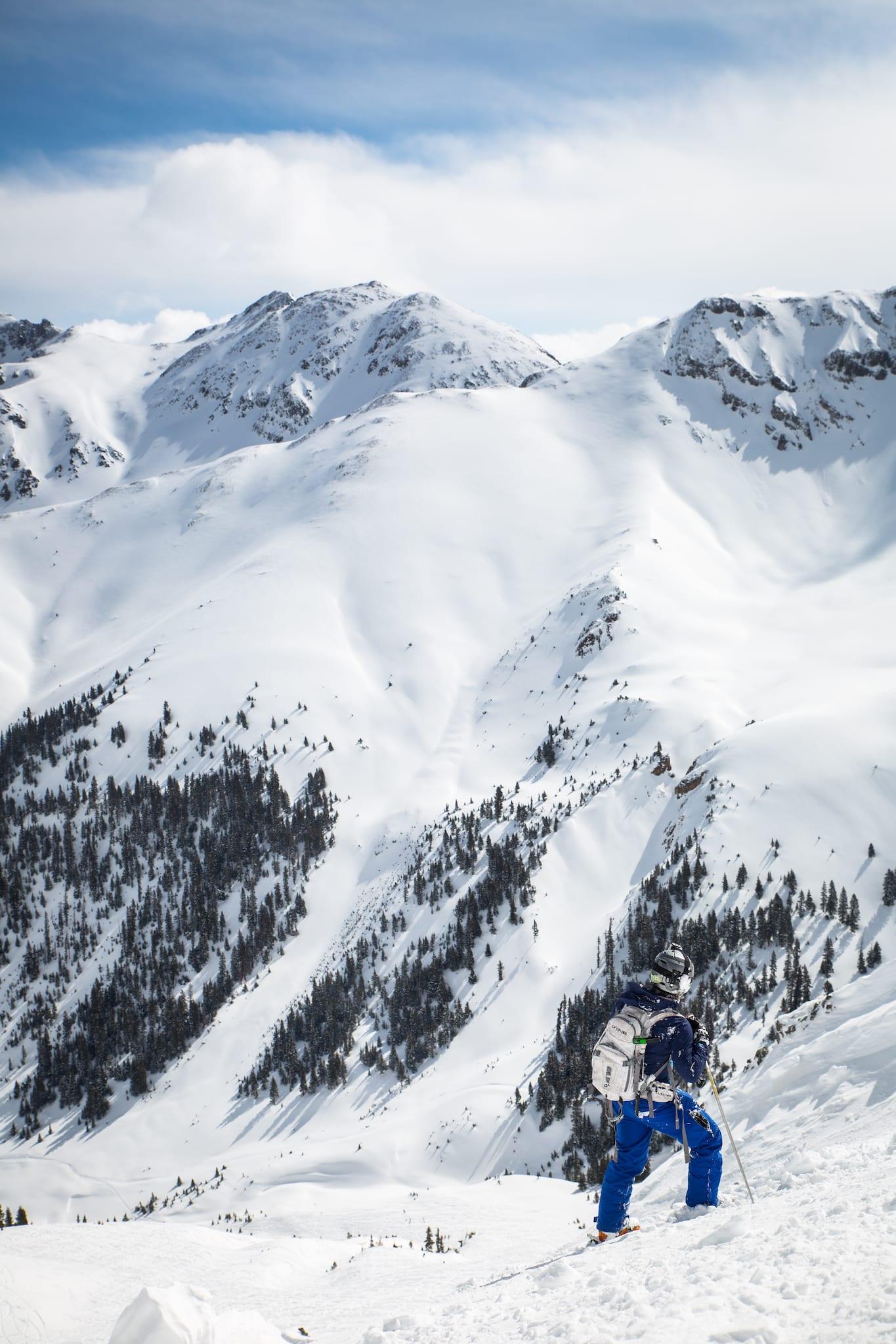 Silverton Mountain Colorado Skier