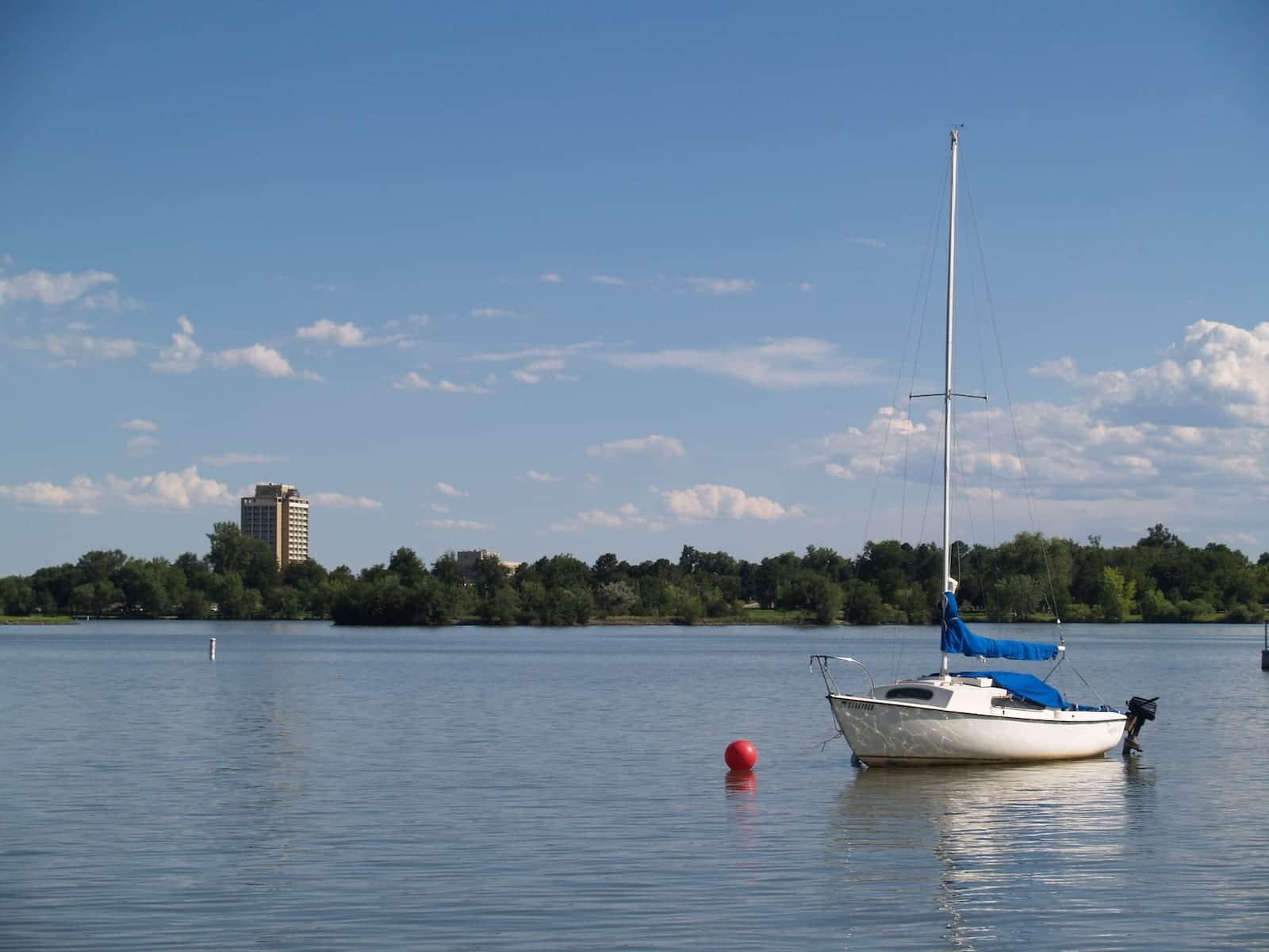 Sloan's Lake Marina Boat