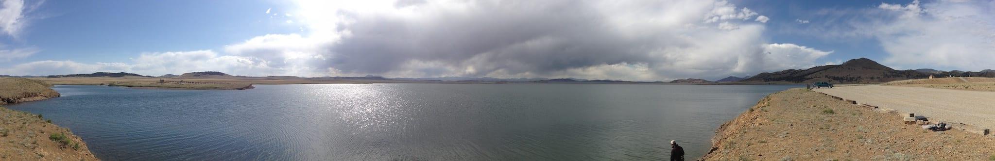 Spinney Mountain Reservoir Colorado Panorama