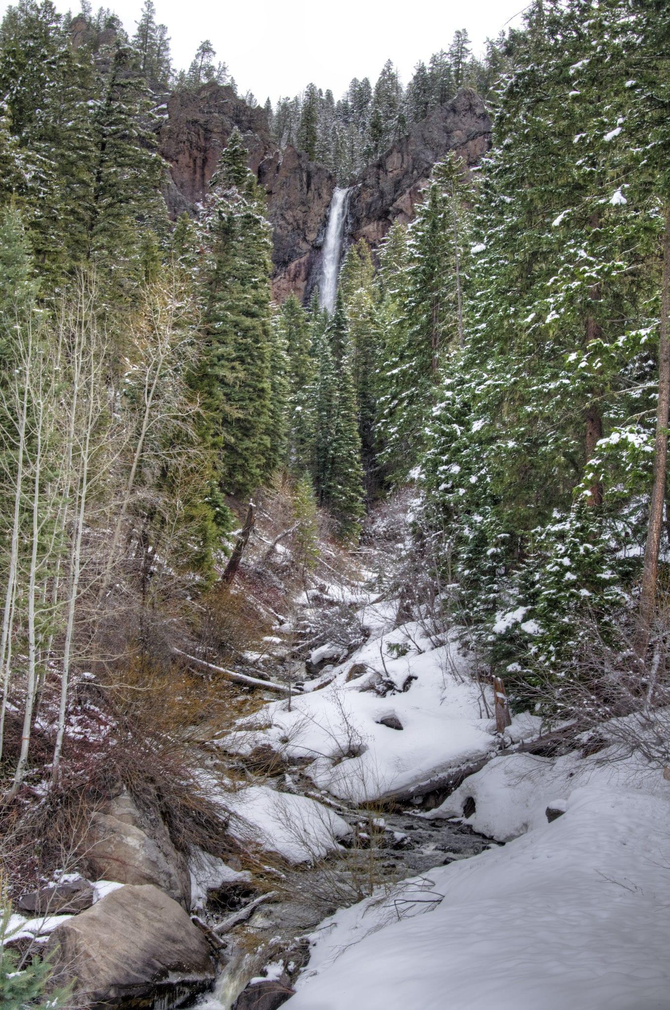 Treasure Falls Pagosa Springs CO Snow